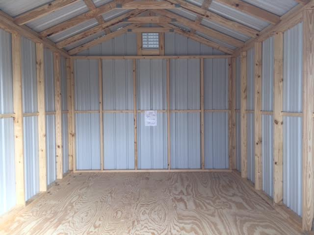 10 x 14 storage shed cryin coyote ranch